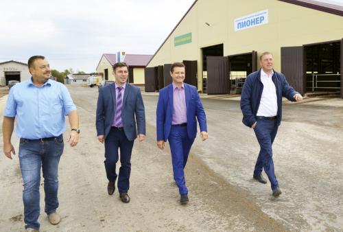 Константин Демидов: «Наш регион традиционно занимает ведущие места в рейтинге по надою на одну корову»